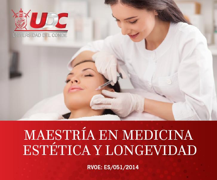 Maestría en Medicina Estética de la Universidad del Conde